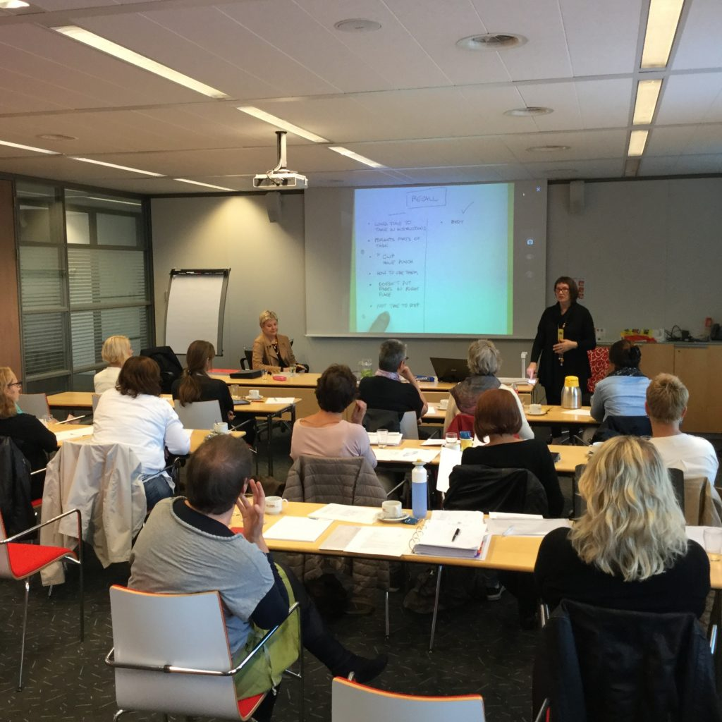 Studiedag in Utrecht, bij Ergotherapie Nederland: PRPP en werk